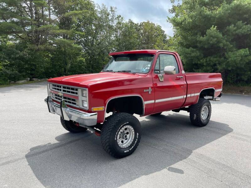 1987 Chevrolet R/V 10 Series for sale at Nala Equipment Corp in Upton MA