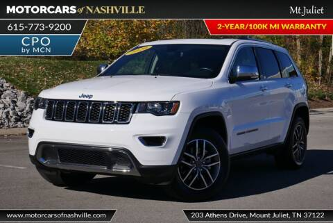 2020 Jeep Grand Cherokee for sale at MotorCars of Nashville in Mount Juliet TN
