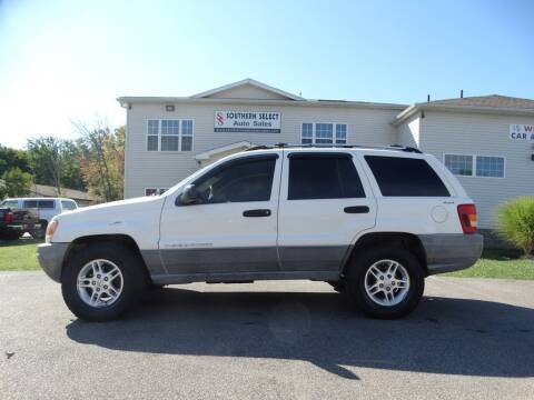 2000 Jeep Grand Cherokee for sale at SOUTHERN SELECT AUTO SALES in Medina OH