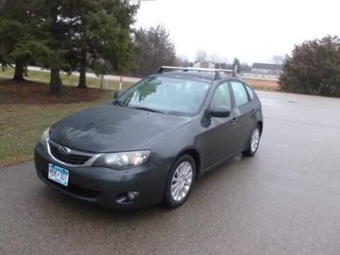 2008 Subaru Impreza for sale at HUDSON AUTO MART LLC in Hudson WI
