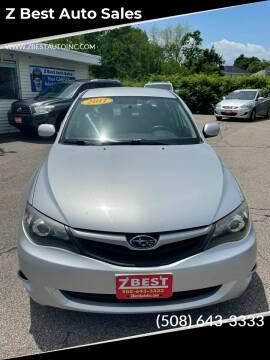 2011 Subaru Impreza for sale at Z Best Auto Sales in North Attleboro MA