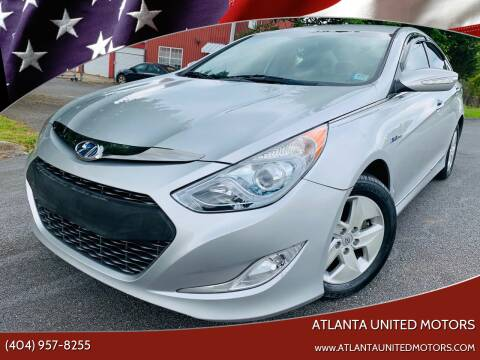 2011 Hyundai Sonata Hybrid for sale at Atlanta United Motors in Buford GA