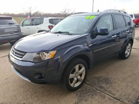 2008 Mitsubishi Outlander for sale at River Motors in Portage WI