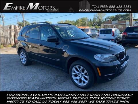 2012 BMW X5 for sale at Empire Motors LTD in Cleveland OH