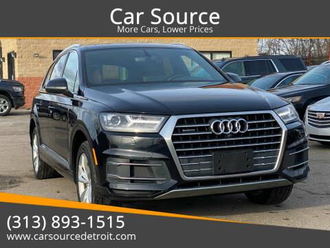 2017 Audi Q7 for sale at Car Source in Detroit MI
