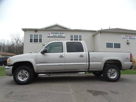 2005 GMC Sierra 2500HD for sale at SOUTHERN SELECT AUTO SALES in Medina OH