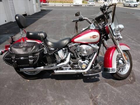 2005 Harley-Davidson FLSTC for sale at VILLAGE SERVICE CENTER in Penns Creek PA
