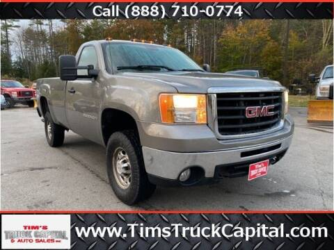 2007 GMC Sierra 2500HD for sale at TTC AUTO OUTLET/TIM'S TRUCK CAPITAL & AUTO SALES INC ANNEX in Epsom NH