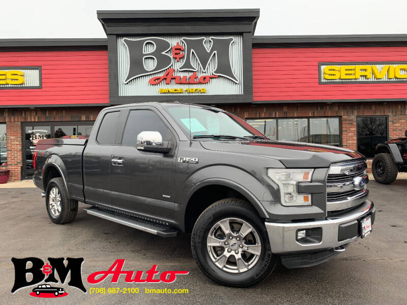 2015 Ford F-150 for sale at B & M Auto Sales Inc. in Oak Forest IL