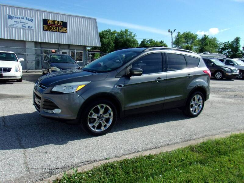 2013 Ford Escape for sale at HIGHWAY 42 CARS BOATS & MORE in Kaiser MO