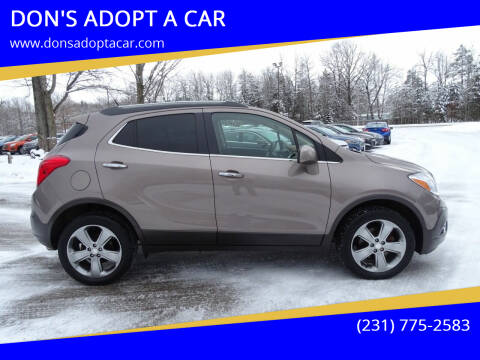 2013 Buick Encore for sale at DON'S ADOPT A CAR in Cadillac MI