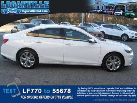 2017 Chevrolet Malibu for sale at Loganville Quick Lane and Tire Center in Loganville GA