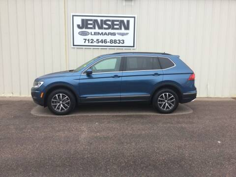 2020 Volkswagen Tiguan for sale at Jensen's Dealerships in Sioux City IA