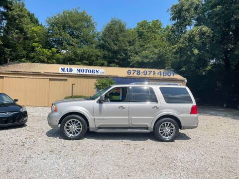 2003 Lincoln Navigator for sale at Mad Motors LLC in Gainesville GA