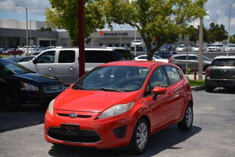 2012 Ford Fiesta for sale at Motor Car Concepts II - Kirkman Location in Orlando FL