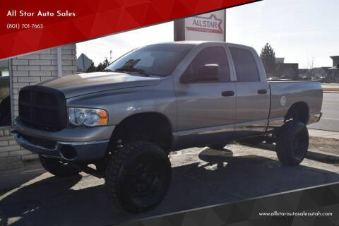 2004 Dodge Ram Pickup 2500 for sale at All Star Auto Sales in Pleasant Grove UT