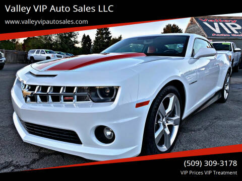 2011 Chevrolet Camaro for sale at Valley VIP Auto Sales LLC - Valley VIP Auto Sales - E Sprague in Spokane Valley WA