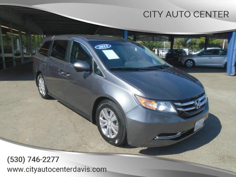 2015 Honda Odyssey for sale at City Auto Center in Davis CA
