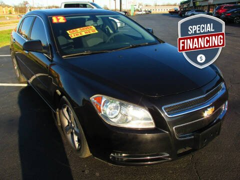 2012 Chevrolet Malibu for sale at Auto World in Carbondale IL