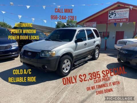 2005 Ford Escape for sale at Coqui Auto Sales in La Feria TX
