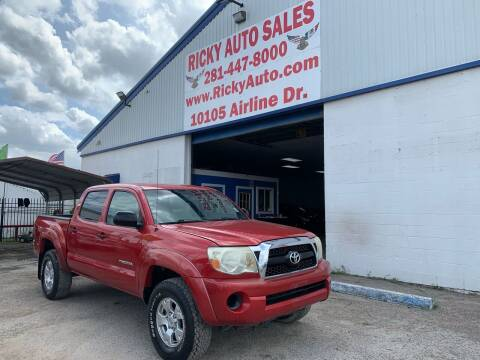 2011 Toyota Tacoma for sale at Ricky Auto Sales in Houston TX