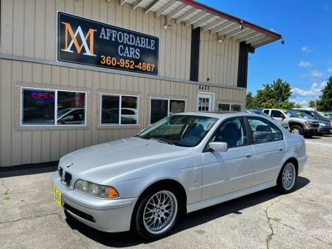 2003 BMW 5 Series for sale at M & A Affordable Cars in Vancouver WA