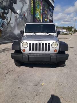 2007 Jeep Wrangler Unlimited for sale at Rosa's Auto Sales in Miami FL