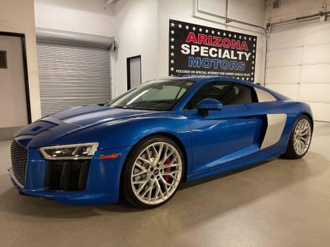 2017 Audi R8 for sale at Arizona Specialty Motors in Tempe AZ