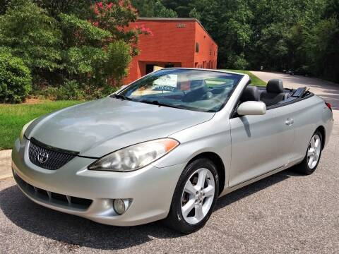 2005 Toyota Camry Solara for sale at Weaver Motorsports Inc in Cary NC