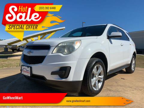 2013 Chevrolet Equinox for sale at GOWHEELMART in Available In LA