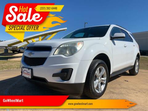 2013 Chevrolet Equinox for sale at GoWheelMart in Leesville LA