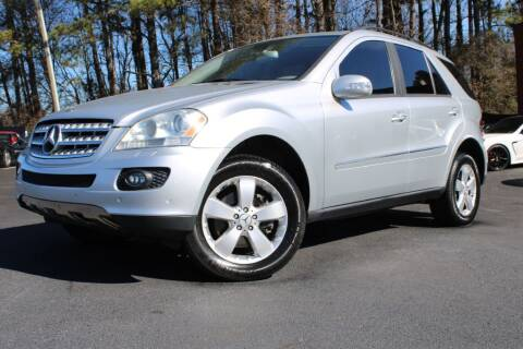 2006 Mercedes-Benz M-Class for sale at Atlanta Unique Auto Sales in Norcross GA