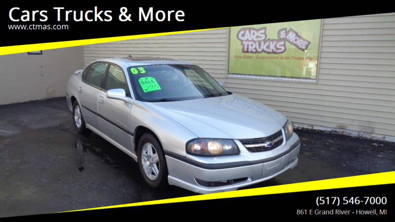 2003 Chevrolet Impala for sale at Cars Trucks & More in Howell MI