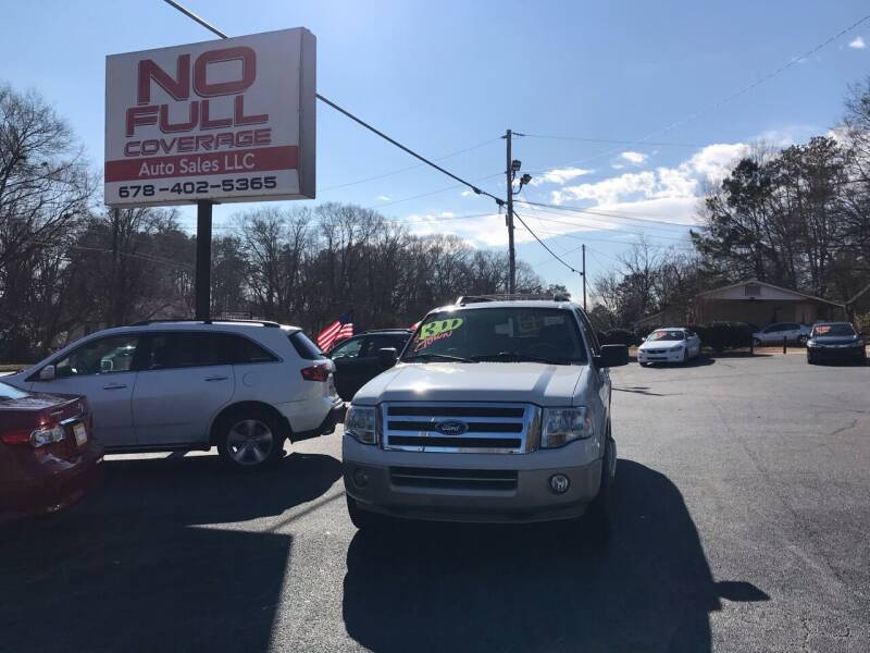 2008 Ford Expedition for sale at No Full Coverage Auto Sales in Austell GA