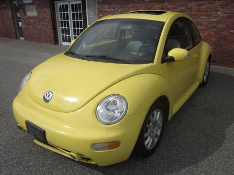 2005 Volkswagen New Beetle for sale at Tewksbury Used Cars in Tewksbury MA