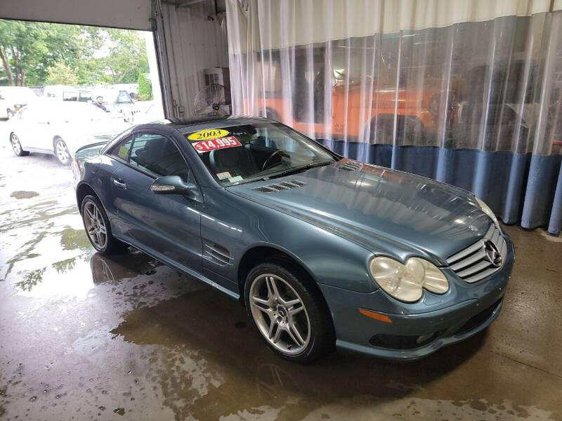 2003 Mercedes-Benz SL-Class for sale at Hometown Automotive Service & Sales in Holliston MA