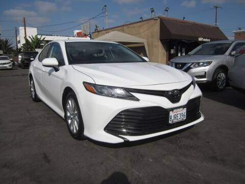 2019 Toyota Camry for sale at Win Motors Inc. in Los Angeles CA