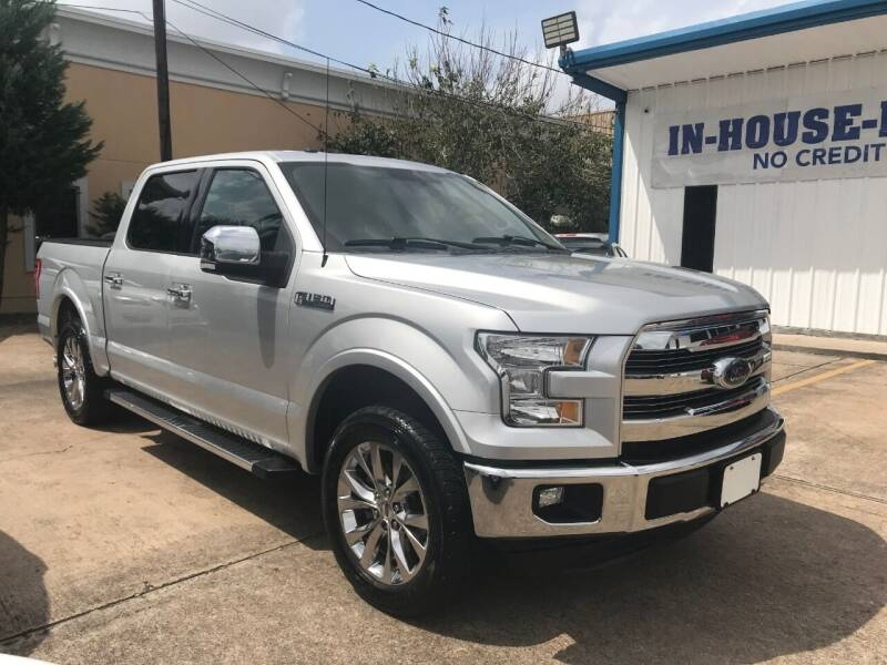 2016 Ford F-150 for sale at Discount Auto Company in Houston TX