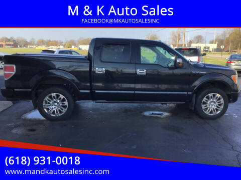 2010 Ford F-150 for sale at M & K Auto Sales in Granite City IL
