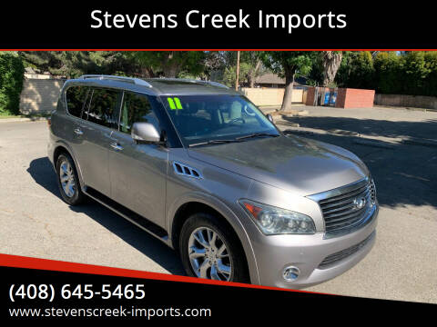 2011 Infiniti QX56 for sale at Stevens Creek Imports in San Jose CA