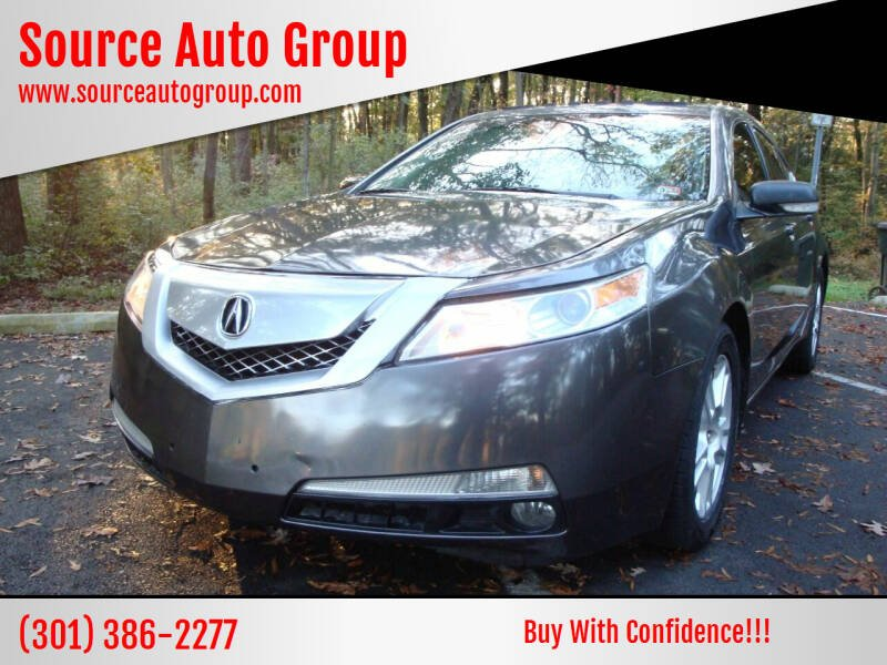 2011 Acura TL for sale at Source Auto Group in Lanham MD