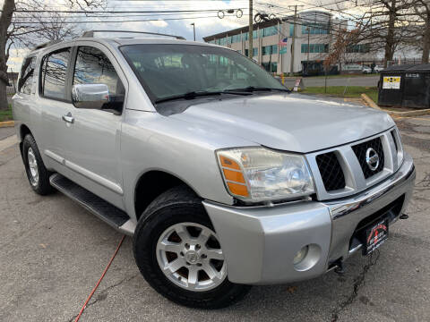 2004 Nissan Armada for sale at JerseyMotorsInc.com in Teterboro NJ