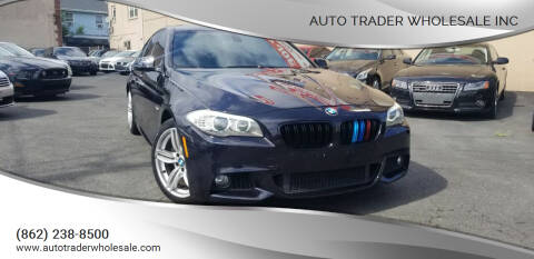 2011 BMW 5 Series for sale at Auto Trader Wholesale Inc in Saddle Brook NJ
