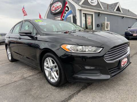 2015 Ford Fusion for sale at Cape Cod Carz in Hyannis MA