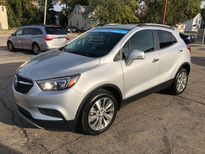 2018 Buick Encore for sale at Bibian Brothers Auto Sales & Service in Joliet IL