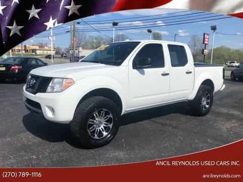 2018 Nissan Frontier for sale at Ancil Reynolds Used Cars Inc. in Campbellsville KY