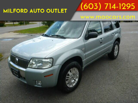 2005 Mercury Mariner for sale at Milford Auto Outlet in Milford NH
