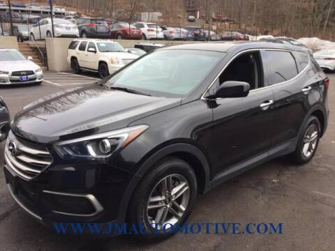 2017 Hyundai Santa Fe Sport for sale at J & M Automotive in Naugatuck CT
