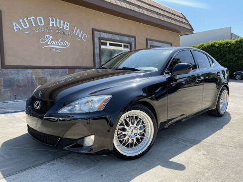 2007 Lexus IS 250 for sale at Auto Hub, Inc. in Anaheim CA