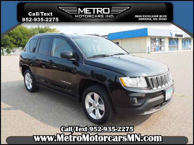 2012 Jeep Compass for sale at Metro Motorcars Inc in Hopkins MN